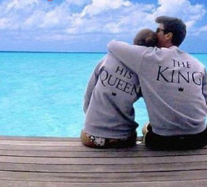 loomrack The King His Queen Long Sleeve T-Shirt T-Shirts
