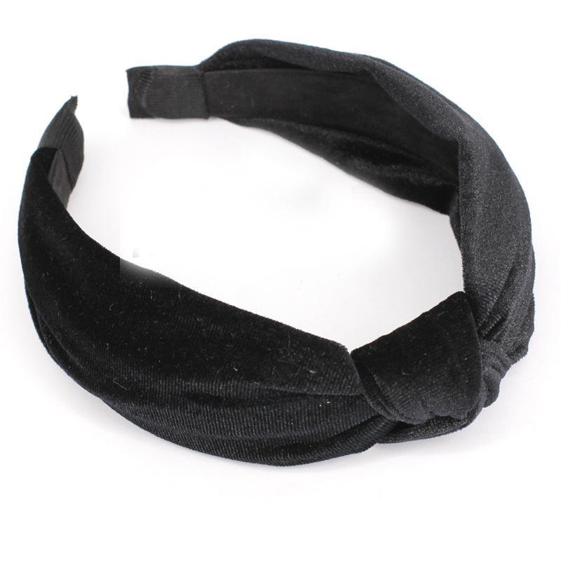 loomrack Velvet Knotted Twist Headband Hair Accessories