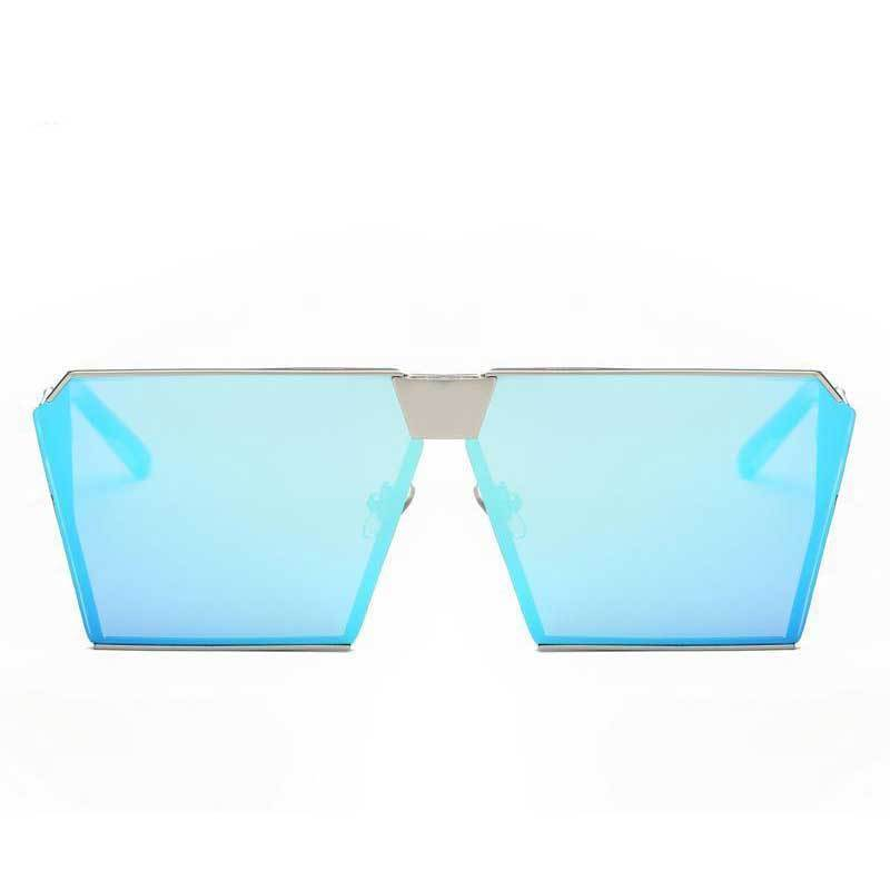loomrack Vintage Oversized Square Mirror Sunglasses Sunglasses