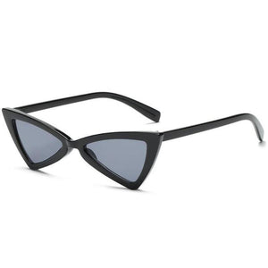 loomrack Vintage Triangle Retro Sunglasses Sunglasses Black Frame Black