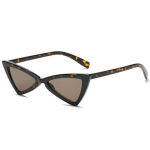 loomrack Vintage Triangle Retro Sunglasses Sunglasses Leopard
