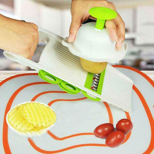 Magic Vegetable Slicer/Cutter/Peeler Kitchen Loom Rack