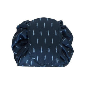 MagicPouch™ - Magic Cosmetic Travel Pouch Cosmetic Bags Loom Rack Blue Feather