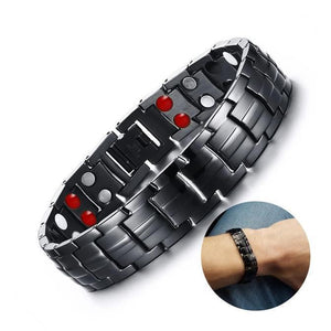 Magnetic Therapy Bracelet Bracelets Loom Rack