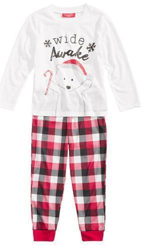 Matching Christmas Pajamas for Family - Sleepy Parents Matching Outfits Loom Rack For Kids 3T