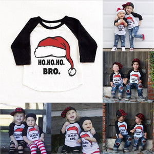 Matching Kids Christmas - Ho Ho Ho Kids T-shirts Matching Outfits Loom Rack