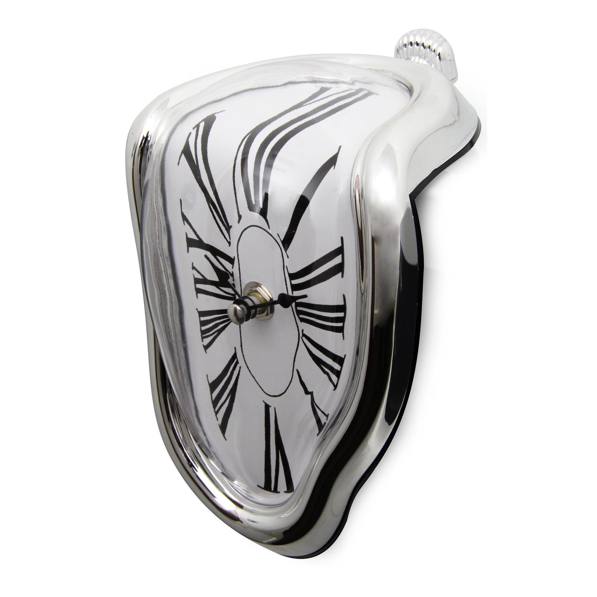 Melting Clock Wall Clocks Loom Rack