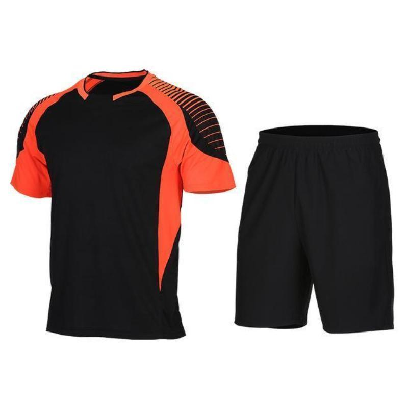 Men's 2-Piece Dry Fit Soccer Set Running Sets Loom Rack XLF012 S