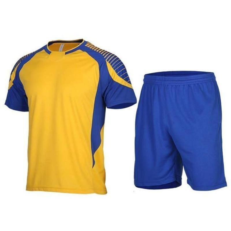 Men's 2-Piece Dry Fit Soccer Set Running Sets Loom Rack XLF015 S