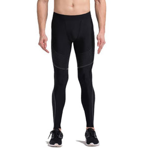 Men's Spiral Compression Reflective Leggings Leggings Loom Rack