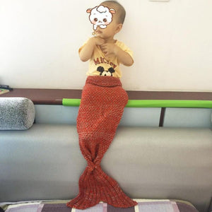 Mermaid Tail Blanket - Crochet - Adult / Kids / Baby Blankets Loom Rack
