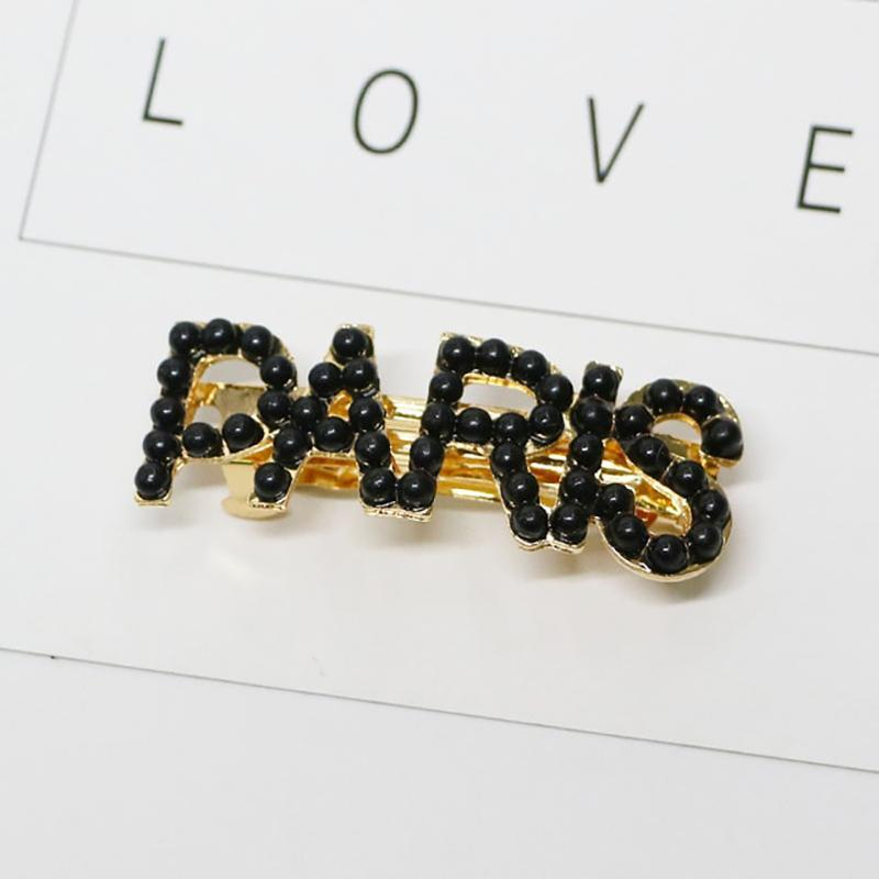 Metropolis Hair Clip Barrettes Hair Accessories 9.Paris-BL