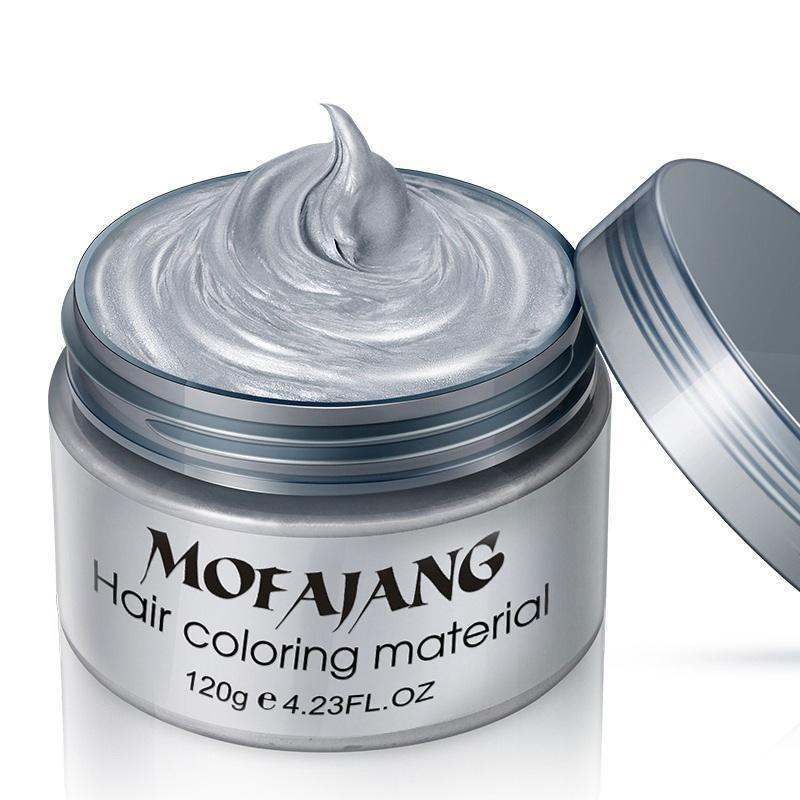 Mofajang One-Time Hair Coloring Wax Hair Color Loom Rack