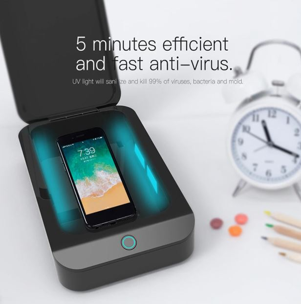 Multifunctional UV Smartphone Sanitizer LoomRack