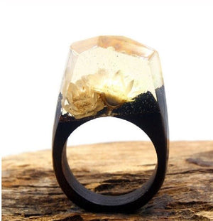 Mystical Wood Landscape Rings Rings Loom Rack R005 5