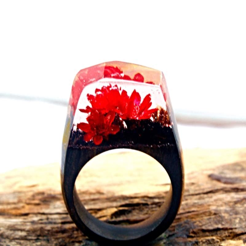 Mystical Wood Landscape Rings Rings Loom Rack R020 8