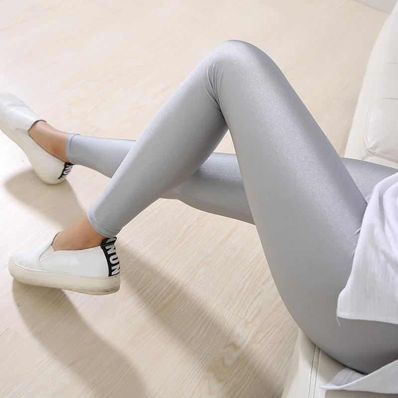 Neon Soft Leggings Leggings Loom Rack Gray L