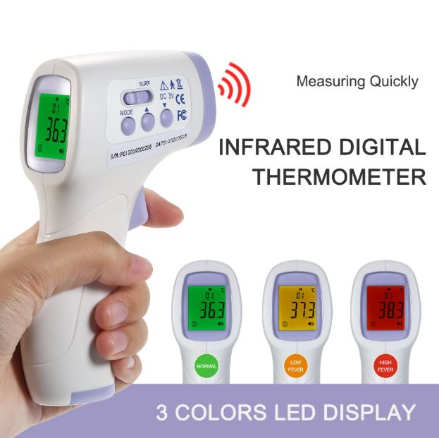 Non-Contact Smart Thermometer Thermometer LoomRack