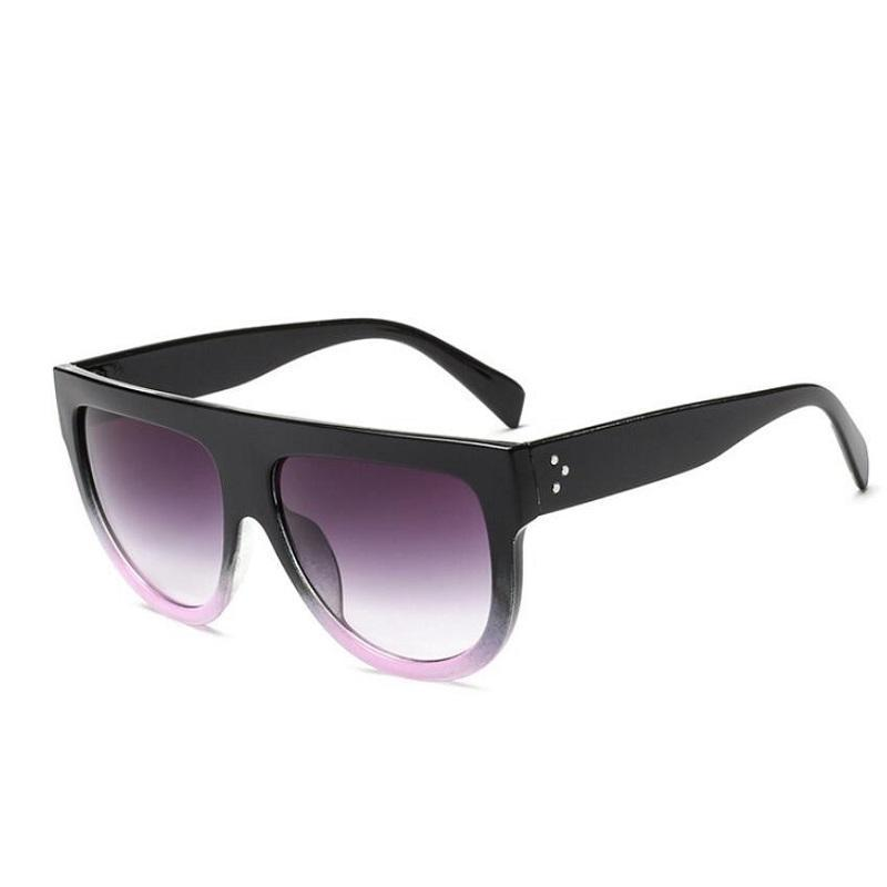 Oversized Glamrock Shades Sunglasses Loom Rack Black Pink