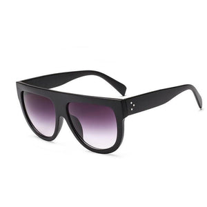 Oversized Glamrock Shades Sunglasses Loom Rack Matte Black