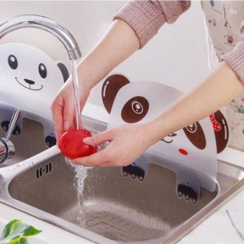 Panda Sink Splash Protector Home Accessories Loom Rack
