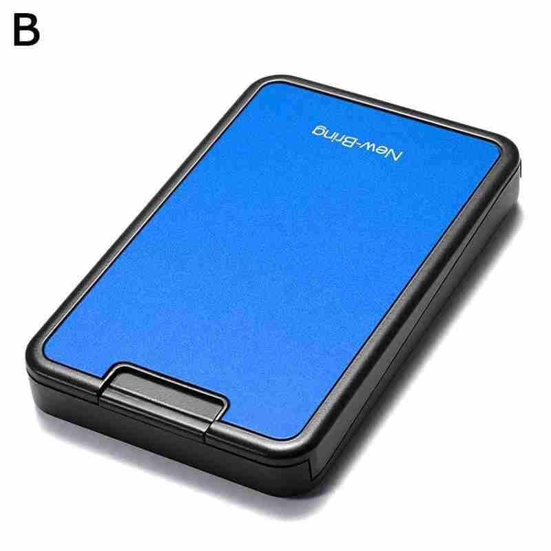 Pocket Sleek™ - Minimalist RFID Blocking Wallet Gadgets Loom Rack Blue