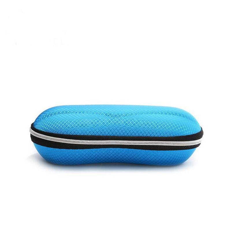 Portable Fiber Colorful Cover Sunglasses Case Sunglasses Cases Style 1
