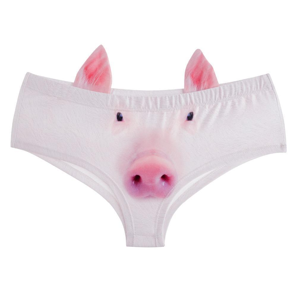 Pot Belly Piggy Briefs Briefs Loom Rack