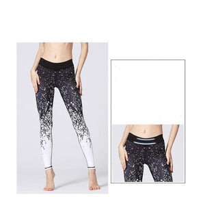Premium Abstract Print High Waist Leggings Leggings Loom Rack