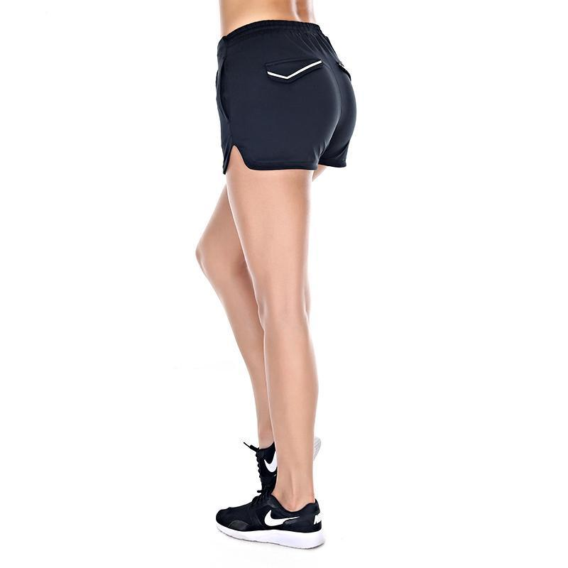 Reflective Mini Athletic Shorts Sports Shorts Loom Rack