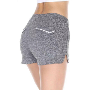 Reflective Mini Athletic Shorts Sports Shorts Loom Rack S GRAY