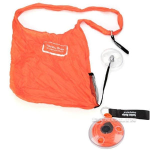 Retractable Storage Bag Travel Organizers Loom Rack Orange