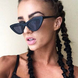 Retro Cat Eye Pointy Sunglasses Sunglasses Loom Rack