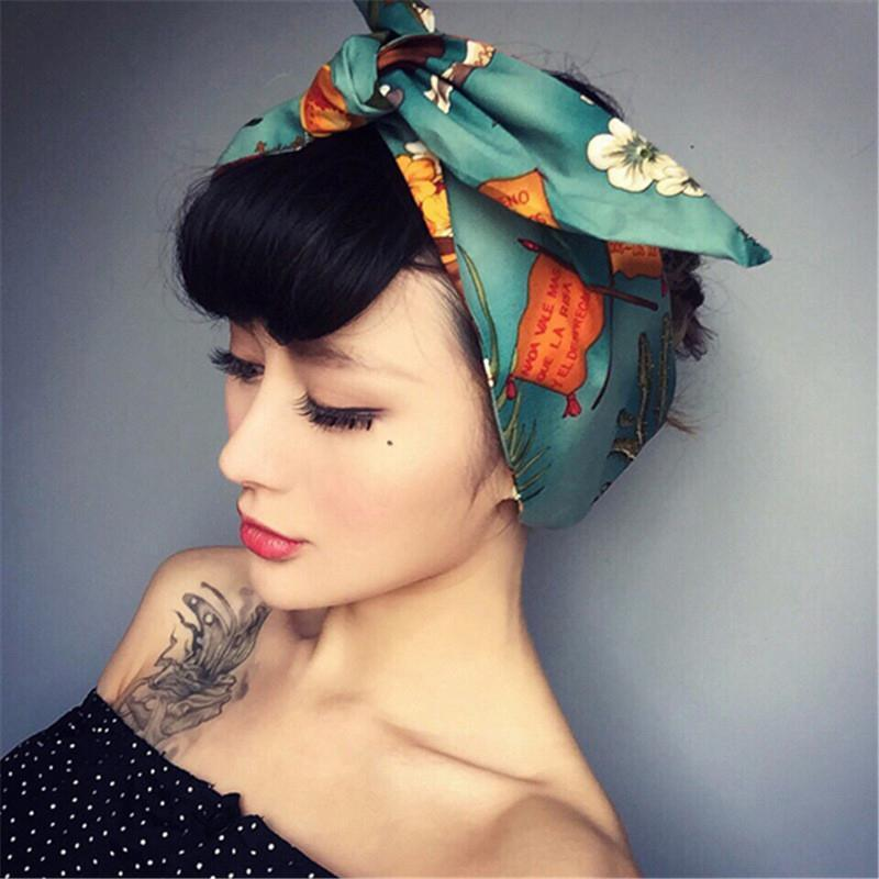 Retro Funk Silk Headbands Headbands Loom Rack