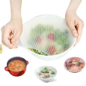 Reusable Silicone Covers Kitchen Loom Rack
