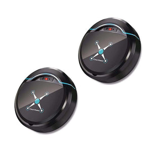 RoboBroom™ - Robotic Floor Cleaner Smart Cleaner 2pk RoboBroom™ - Black - $109.90
