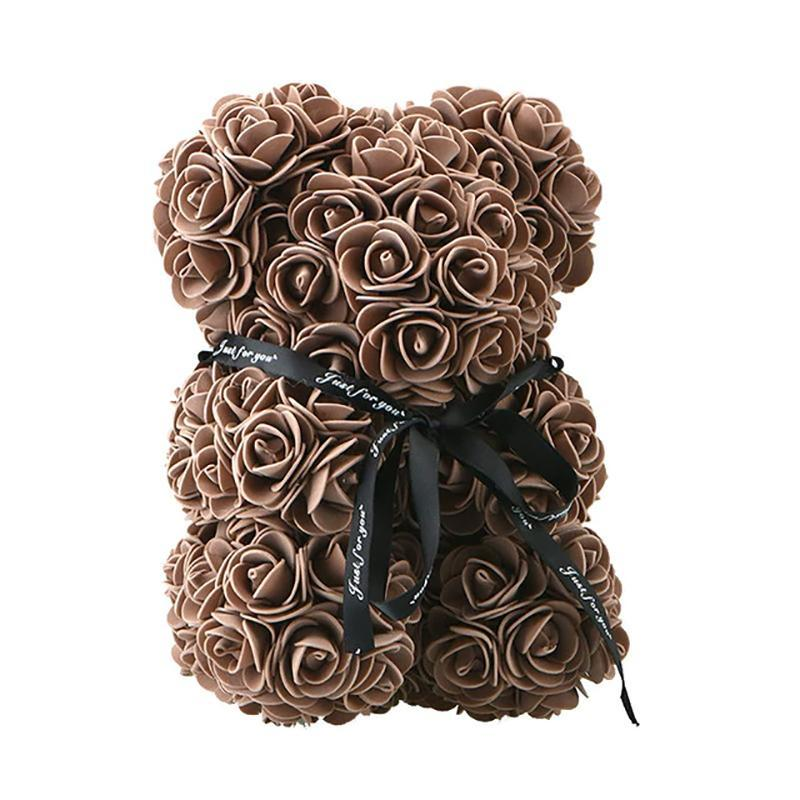 Rose Teddy Bear Home Accessories Brown