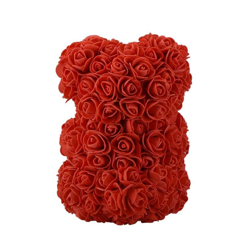 Rose Teddy Bear Home Accessories Loom Rack