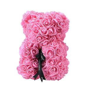 Rose Teddy Bear Home Accessories Pink
