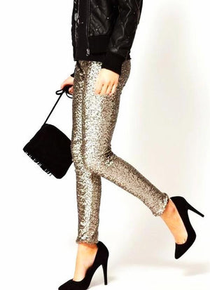 Sequin Leggings Leggings Loom Rack