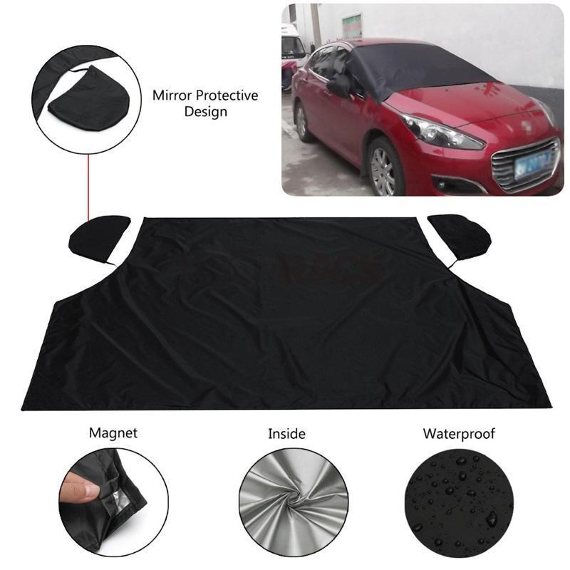 SlickShield™ Magnetic Windshield Protection Cover Car Accessories Loom Rack