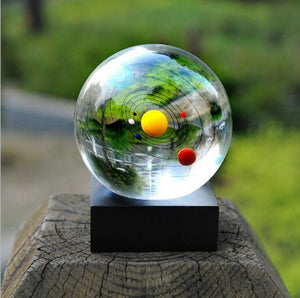 Solar System Crystal Ball Crystal Ball Loom Rack