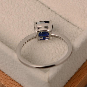 Square Birthstone Ring Rings Loom Rack