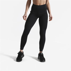 Squat Proof High Waist Leggings with Side Pocket Leggings Loom Rack