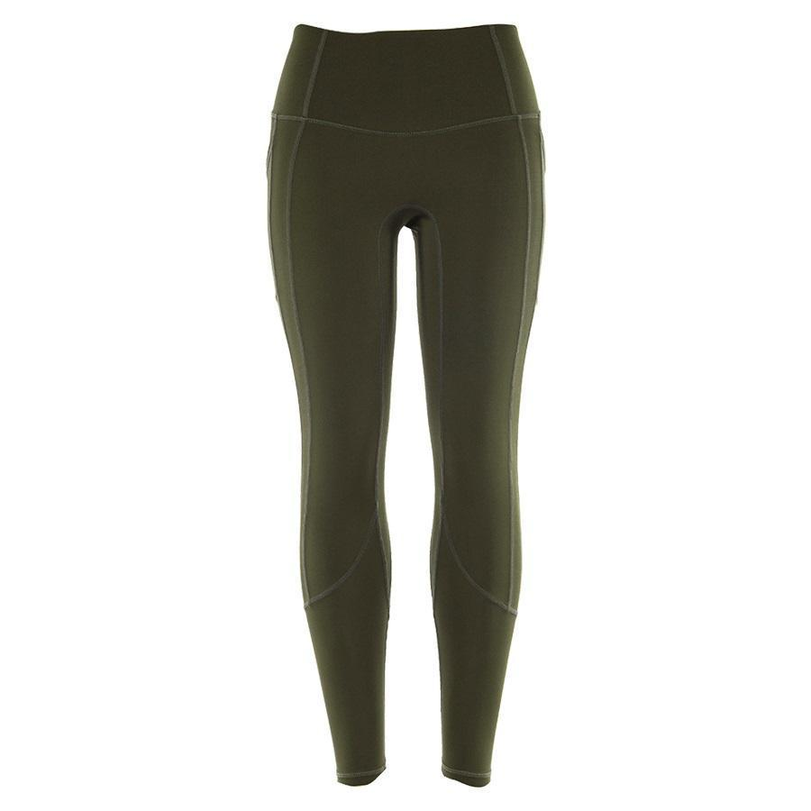 Super High Waist Leggings with Pockets Leggings Loom Rack Army Green S