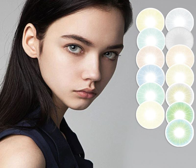 Super Natural Looking Colored Contact Lenses Health & Beauty Loom Rack