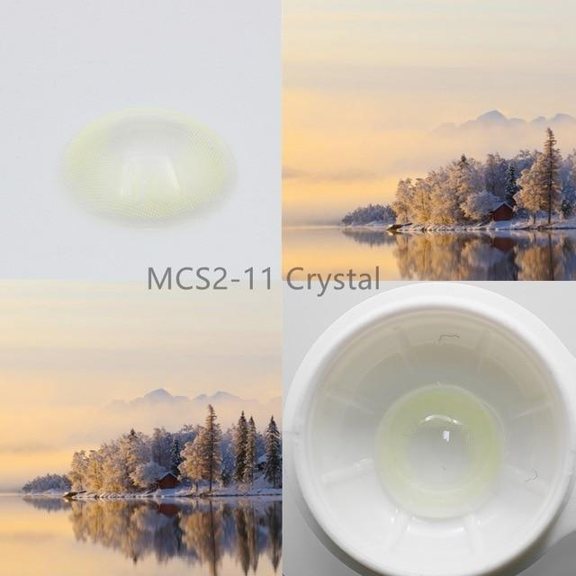 Super Natural Looking Colored Contact Lenses Health & Beauty Loom Rack MCS2-11 Crystal