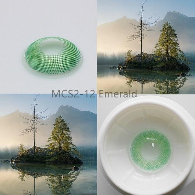 Super Natural Looking Colored Contact Lenses Health & Beauty Loom Rack MCS2-12 Emerald