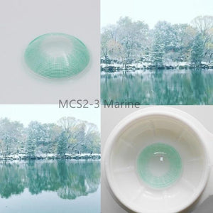 Super Natural Looking Colored Contact Lenses Health & Beauty Loom Rack MCS2-3 Marine