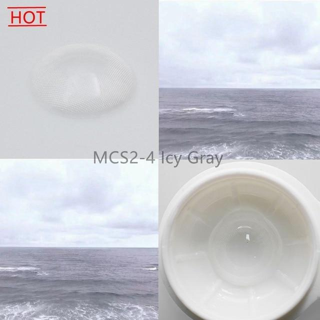Super Natural Looking Colored Contact Lenses Health & Beauty Loom Rack MCS2-4 Icy Gray